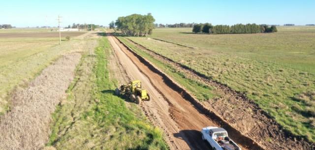 Caminos Rurales de Azul: planificación quincenal de la COVIR